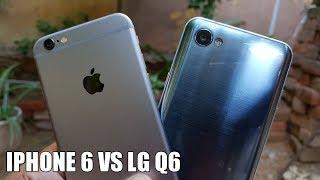 iPhone 6 vs LG Q6 Camera Comparison | With Samples!