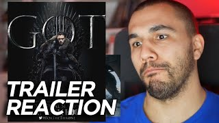 Game Of Thrones Season 8 Trailer Reaction