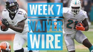 2018 Fantasy Football   Week 7 Top Waiver Wire Targets