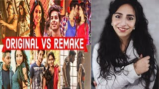 Pakistani Reacts to | Original Vs Remake - Which Song Do You Like the Most? - Bollywood Remake Songs