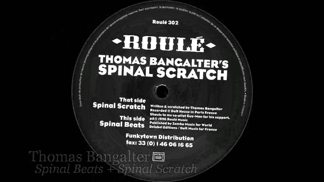 Thomas Bangalter - Spinal Beats + Spinal Scratch - YouTube