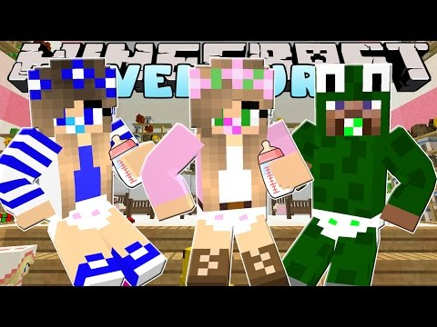 Minecraft - Little Kelly Adventures :LITTLE KELLY TURNS INTO A BABY!!