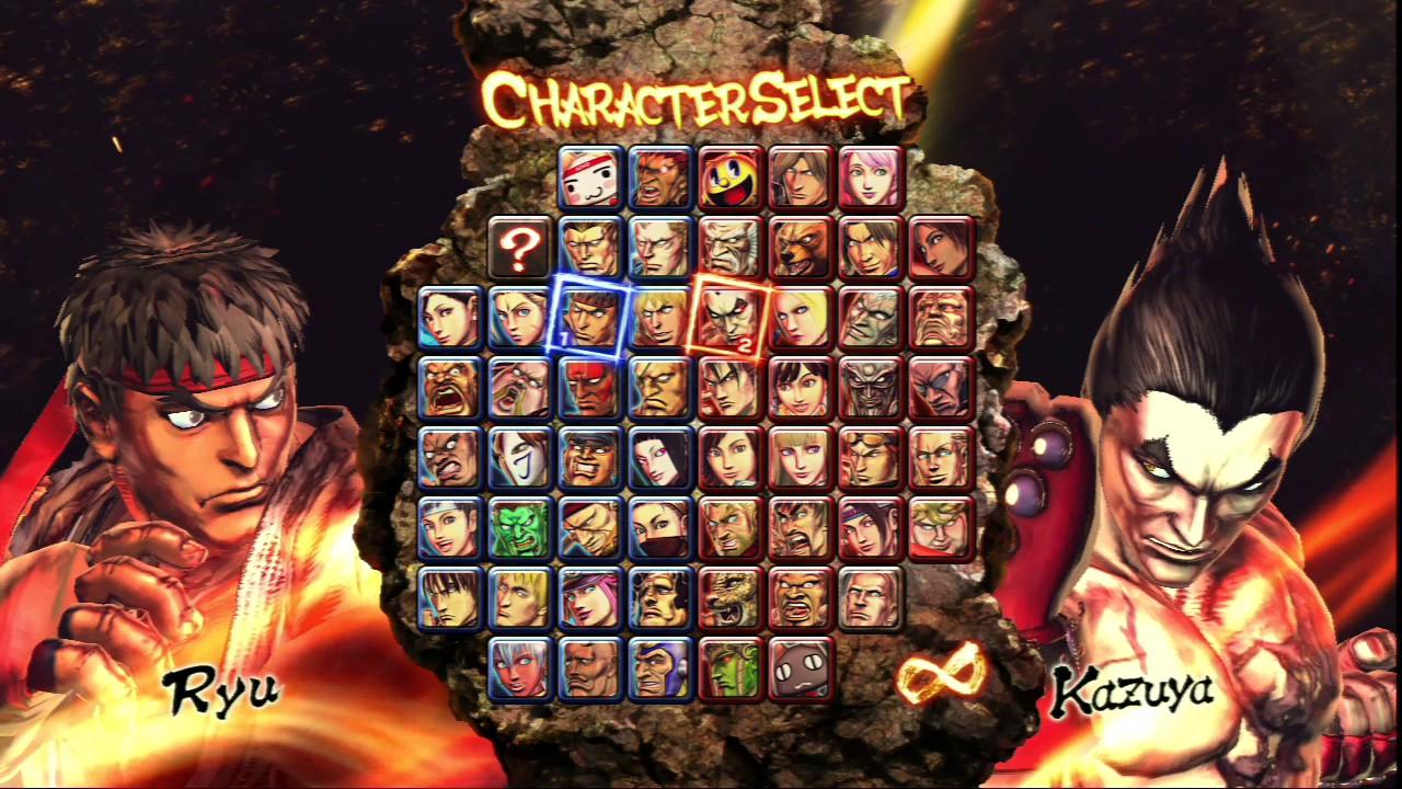 Street Fighter X Tekken: Character Select. (Música) - YouTube