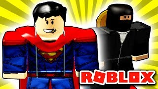 💪 Super-Mand eller Super-Elg? 💪 - Roblox: Superhero Simulator EP1