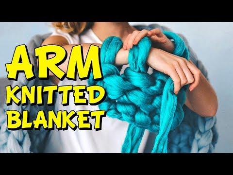 DIY: How to hand knit an extra chunky merino blanket