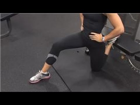 Working Out After Injuries : How to Stretch for Iliopsoas Tendonitis