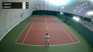 11 декабря 2018г. Теннис. Лига Про. Москва. Муж. Лига любители. Вторая Категория
