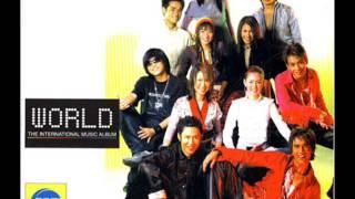 รวมเพลงศิลปินRSอัลบั้ม World The International Music Album(พ.ศ. 2545)  Official Music Long Play