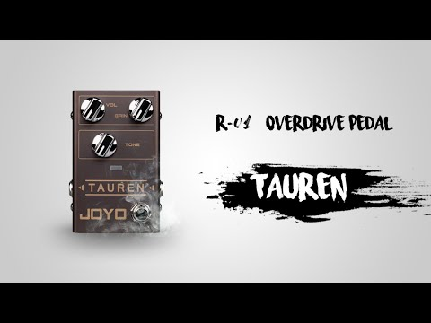 Joyo launches R series with new Tauren overdrive pedal