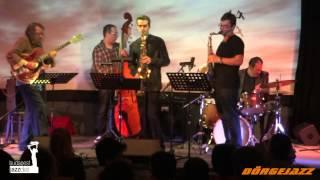 """Gadó, Zana, Bacsó, Barcza, Balázs. Quartet ) """"Mob Job"""" (Ornette Coleman)"""" BJC 2014. 04. 26."""