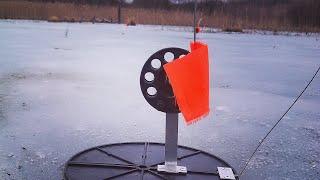 Ловля Щуки, Карася зимой по Первому льду. Первый лёд 2017-2018