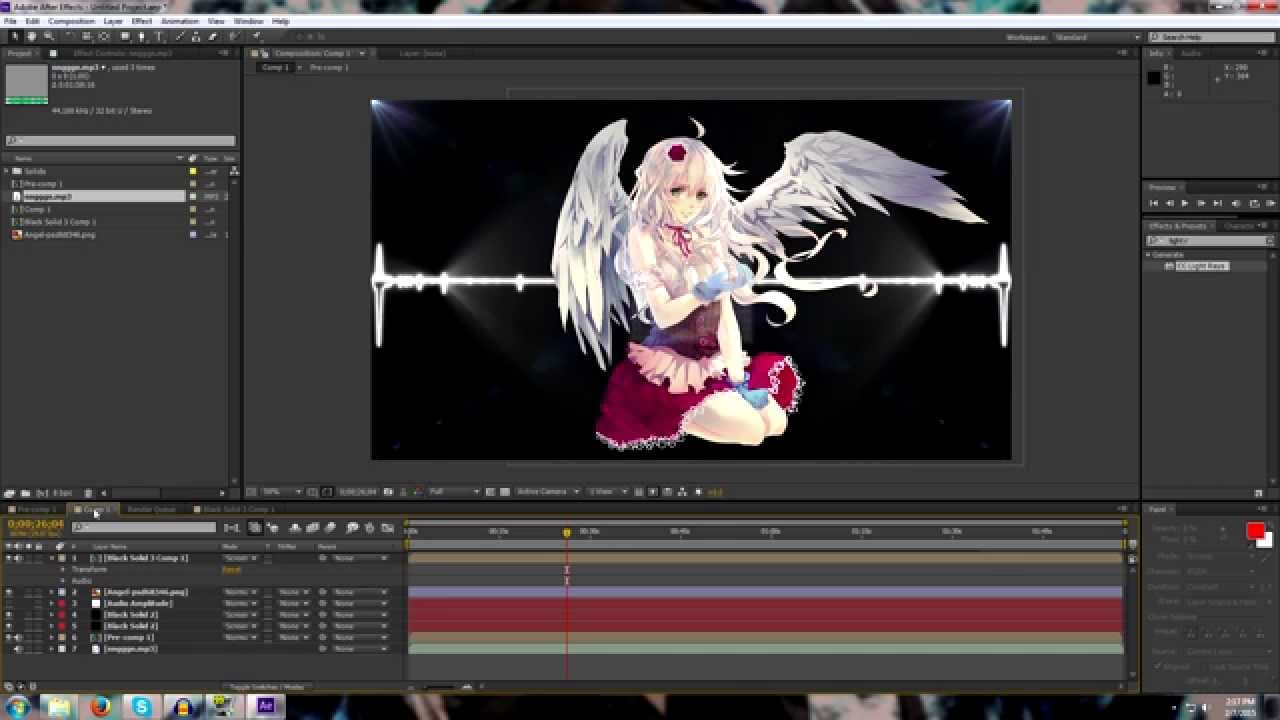 How to Make Nightcore & Visual effects - Tutorial