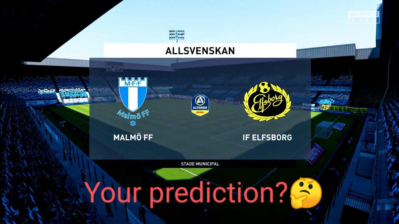 Malmo Ff Vs Elfsborg Allsvenskan Matchday 18 My Prediction Highlights Ps4 Pro Full Hd Youtube