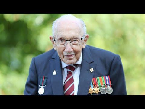 Captain Sir Tom Moore, icon of U.K. COVID-19 lockdown, dies