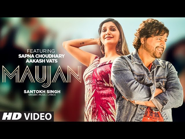 Maujan | Aakash Vats | Santokh Singh | Sapna Chaudhary | Komal Arts | Latest Punjabi Songs 2020