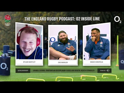 Joe Marler and Mako Vunipola on England Rugby Podcast | O2 Inside Line