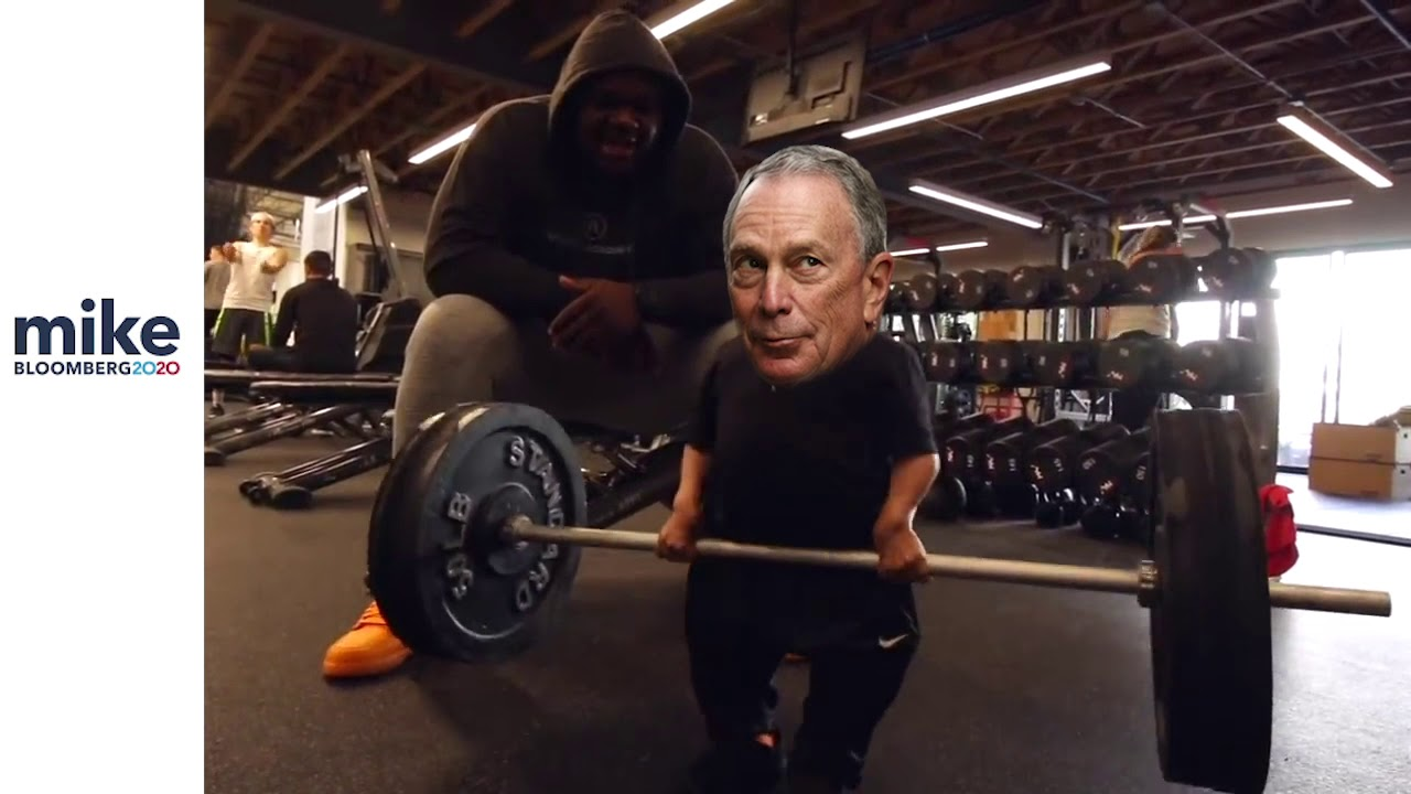 Mike Bloomberg does the HEAVY lifting for YOU!
