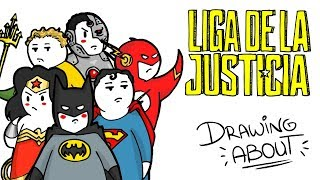 LIGA DE LA JUSTICIA | Draw My Life