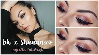 sexy smokey eyes tutorial bh x shaaanxo palette