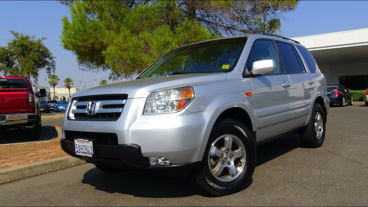 Good 2007 Honda Pilot EX L 3.5 L V6 Road Test U0026 Review