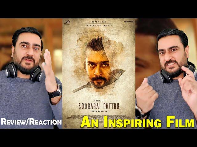 Soorarai Pottru | Suriya, Aparna Balamurali, Paresh Rawal | Trailer Reaction IAmFawad