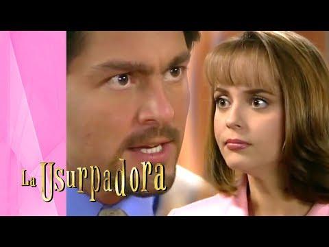 ¡Carlos Daniel descubre el secreto de Paulina! | La Usurpadora - Televisa