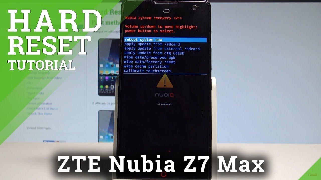 Hard Reset ZTE Nubia Z7 Mini - HardReset info