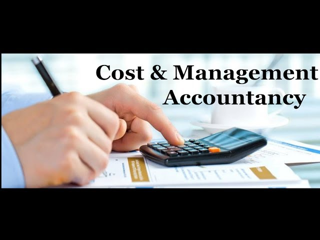 Cost and Management Accountancy