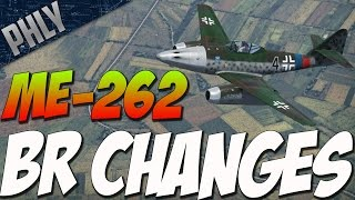 War Thunder NEW BR CHANGES! Me-262 Jet Gameplay!