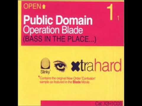 Operation Blade (Original Mix) - PUBLIC DOMAIN