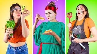 أنواع البنات في المطبخ!