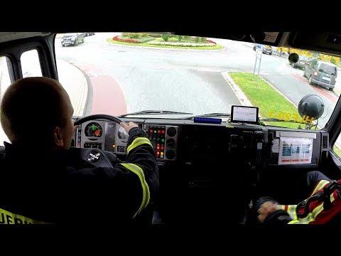 Einsatzfahrt der Feuerwehr Stadt Soest