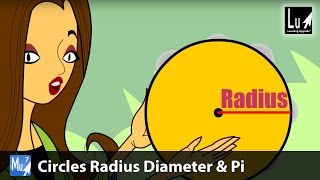 Circles Radius Diameter & Pi Math Learning Upgrade