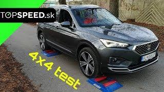 SEAT Tarraco 4drive DSG 4x4 test - TOPSPEED.sk