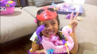 Spider-Jasmine Main Perahu Pinkie Pie My Little Pony si Kuda Poni
