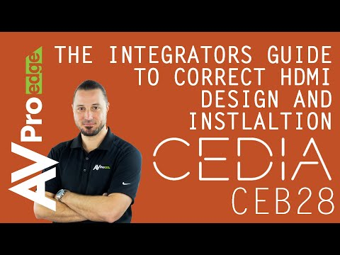 AV Integrators Guide To CEDIA Standards Quality Installations