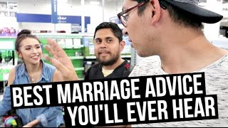 BEST MARRIAGE ADVICE YOU'LL EVER HEAR!