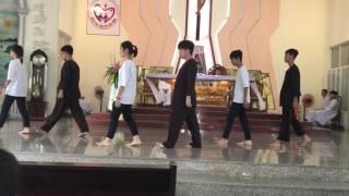 """Father's Day_Các em khối Bao Đồng múa """"Làm Cha""""🎉🎊💐"""
