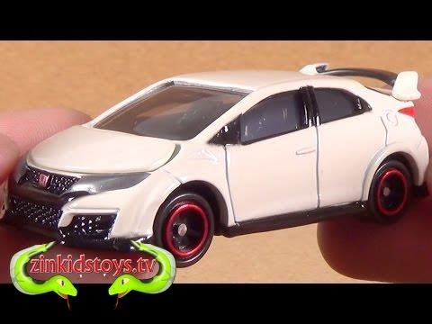 [KitchenToyTV]Tomica 76 Honda Civic Type R Diecast Car Toy Unboxing