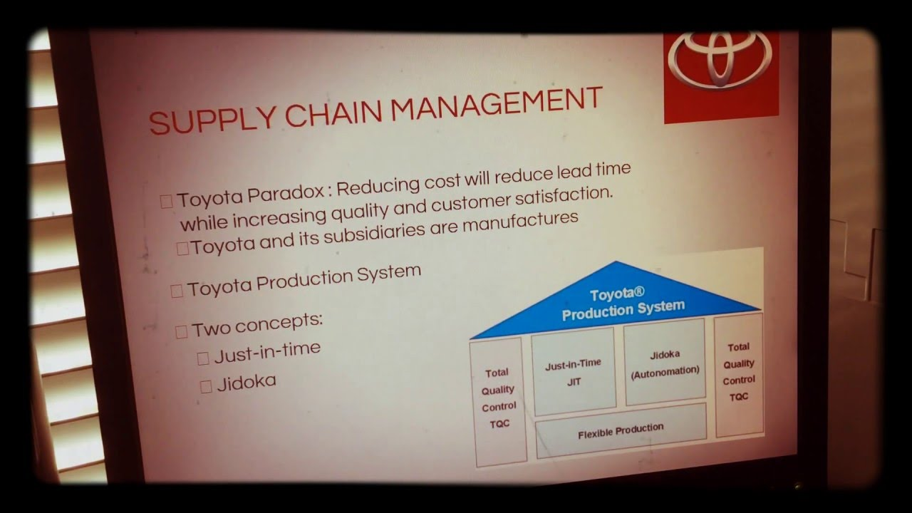 supply chain of toyota 'tariffs are taxes on the end consumer': toyota talks tariffs, supplier diversity and future of supply chain.