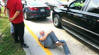CRASHING OUR CAR!!
