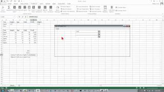 Excel 2013: Database Functions: DMIN and DMAX