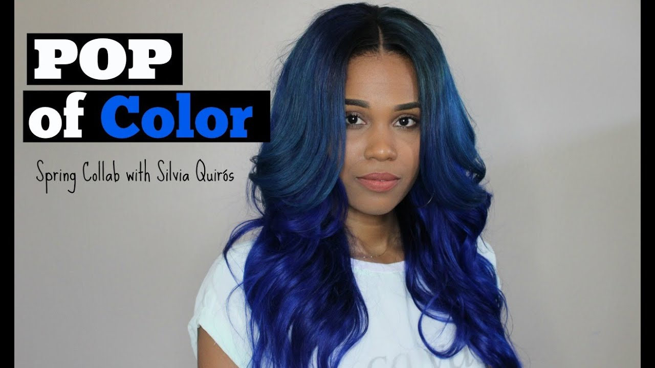 Pop Of Color Spring Collab With Silvia Quirs Youtube