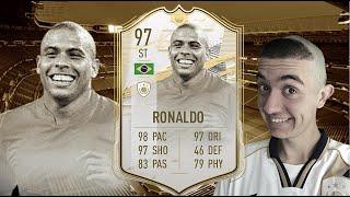FIFA 21: RONALDO NAZARIO 97 PRIME ICON MOMENT PLAYER REVIEW I FIFA 21 ULTIMATE TEAM