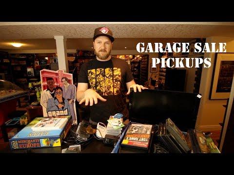 GARAGE SALE PICKUPS - Gameboy Advance, Board Games, TV, RPG's & More!
