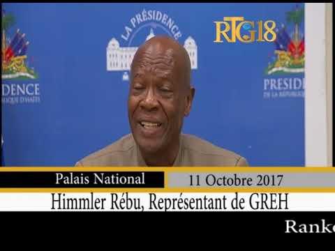Le Président de la République, Jovenel Moise poursuit ses rencontres avec les partis politiques.