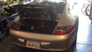 Porsche 911 rebuild First Start