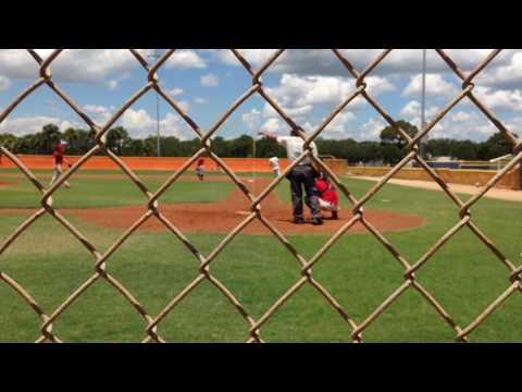 Justin Worley-Line drive double -  Elite Performance Baseball 2017
