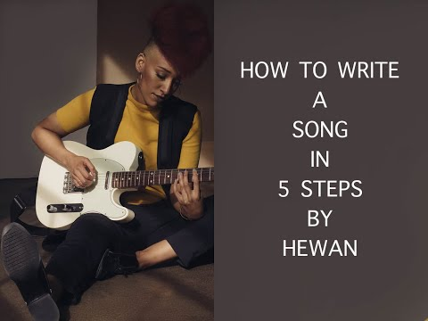 How To Write Song In Five Steps Vlog