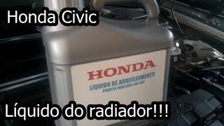 Honda Civic - Troca do Líquido de Arrefecimento D.I.Y. thumbnail